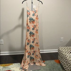 Free people size small long dress/nightgown
